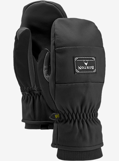 Burton Free Range Mitt shown in True Black