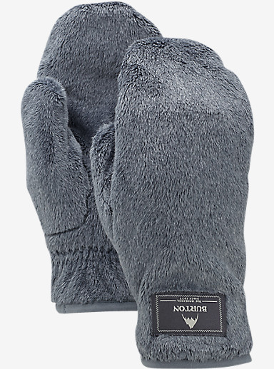 Burton Women's Cora Mitt shown in True Black Heather