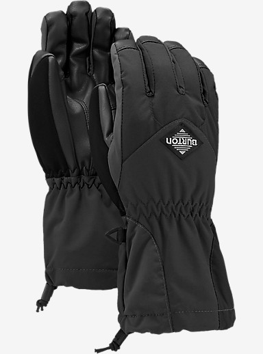Burton Youth Profile Glove shown in True Black