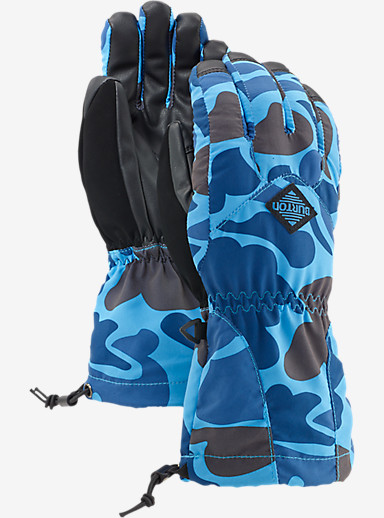 Burton Youth Profile Glove shown in Blue Steel Duck Hunter Camo