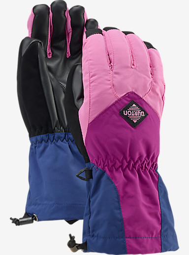 Burton Youth Profile Glove shown in Suga Suga / Grapeseed