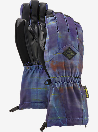 Burton Kids' Profile Glove shown in Thunder Plaid