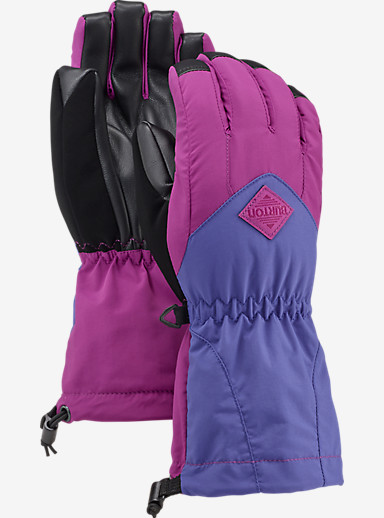 Burton Kids' Profile Glove shown in Grapeseed / Sorcerer