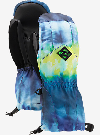 Burton Youth Profile Mitt shown in Surf Stripe