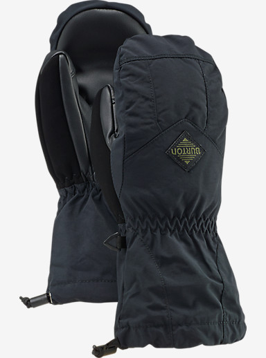 Burton Kids' Profile Mitt shown in True Black