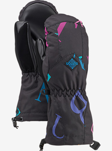 Burton Kids' Profile Mitt shown in Monogram