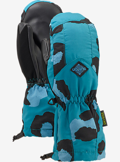 Burton Kids' Profile Mitt shown in Everglade Super Leopard