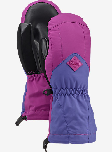 Burton Kids' Profile Mitt shown in Grapeseed / Sorcerer