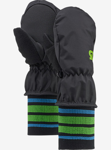 Burton Minishred Mitt shown in True Black