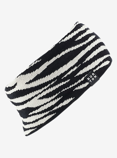 Burton Poledo Headband shown in Zebra