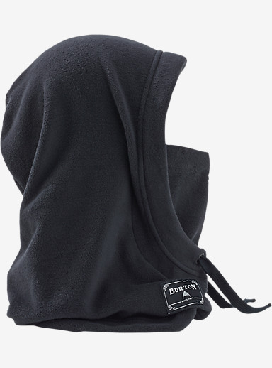Burton Burke Hood shown in True Black