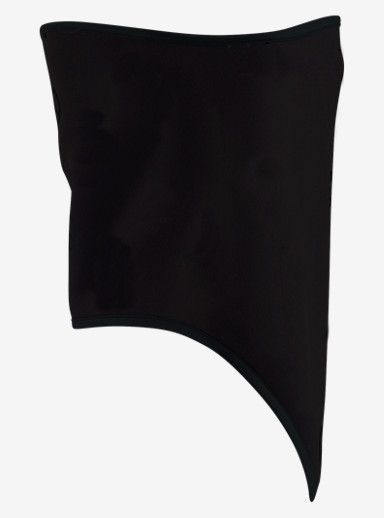 Burton Bonded Facemask shown in True Black