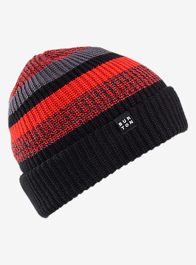 Burton Boys' Chute Beanie shown in True Black