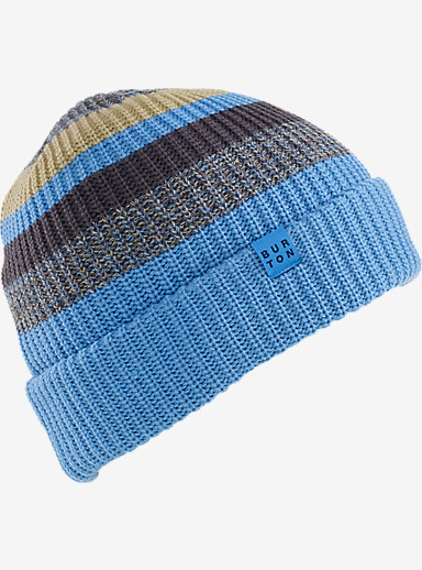 Burton Boys' Chute Beanie shown in Blue Steel