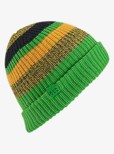 Burton Boys' Chute Beanie shown in Slime