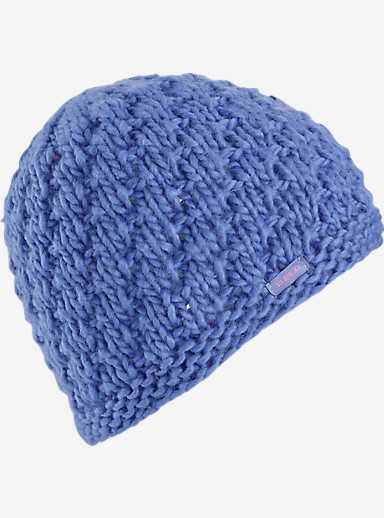 Burton Girls' Lil Bertha Beanie shown in Periwinks