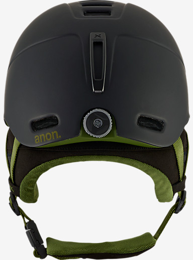 anon. Helo 2.0 Helmet shown in Black Olive