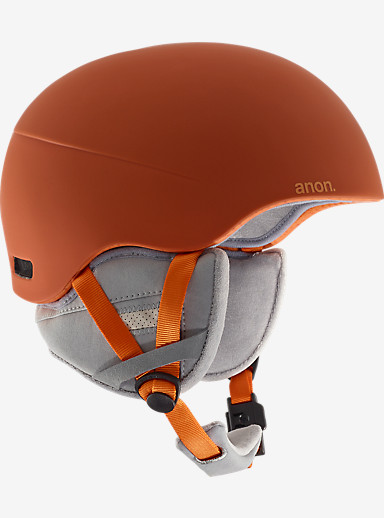 anon. Helo 2.0 Helmet shown in Orange
