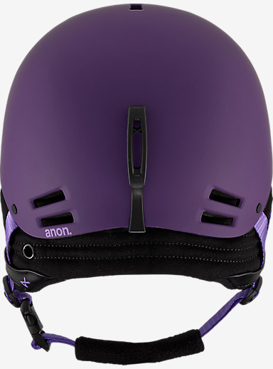 anon. Greta Helmet shown in Imperial Purple