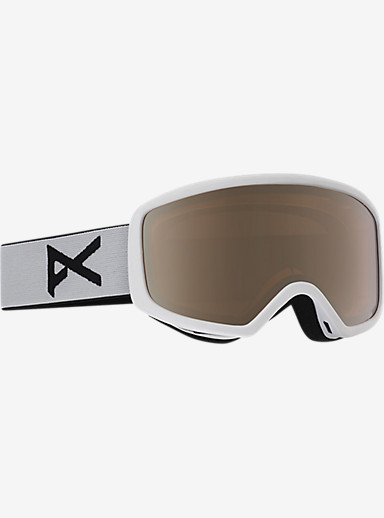 anon. Deringer MFI Goggle shown in Frame: White, Lens: Silver Amber