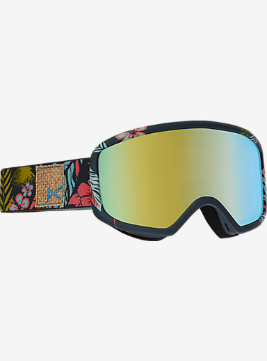 anon. Deringer MFI Goggle shown in Frame: Tiki, Lens: Gold Chrome