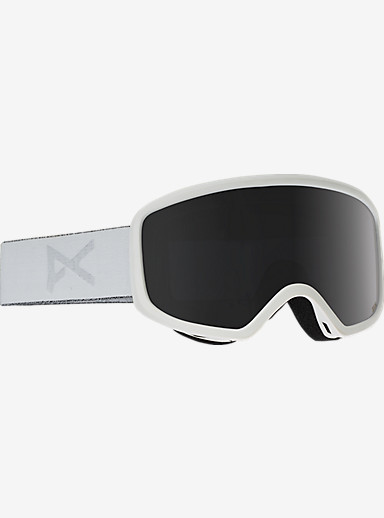 anon. Deringer MFI Goggle shown in Frame: Whiteout, Lens: Dark Smoke