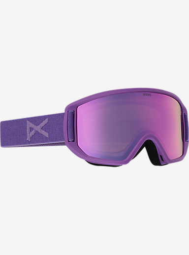 anon. Relapse Jr. MFI Goggle shown in Frame: Grape, Lens: Pink Amber