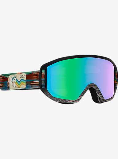 HCSC x anon. Relapse Jr. MFI Goggle shown in Frame: HCSC, Lens: Green Solex