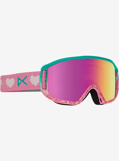 anon. Relapse Jr. MFI Goggle shown in Frame: Love, Lens: Pink Amber