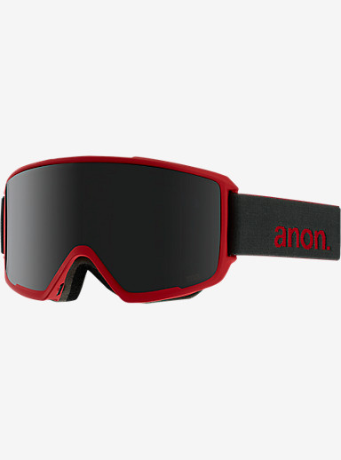 anon. M3 MFI Goggle shown in Frame: Ruby Red, Lens: Dark Smoke