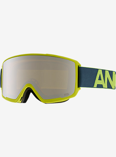 anon. M3 MFI Goggle shown in Frame: Lemonade, Lens: Silver Amber