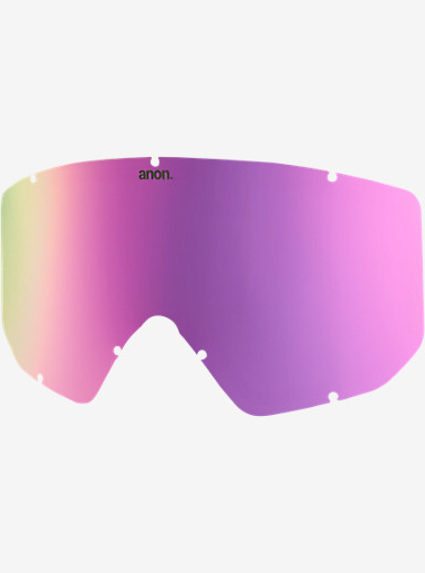 anon. Relapse Jr. Goggle Lens shown in Pink Cobalt