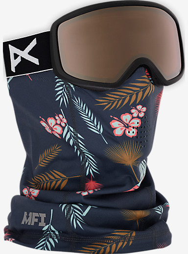 anon. Women's MFI Mid-Weight Neck Warmer shown in Tiki