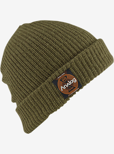 Analog Blowout Slouch Beanie shown in Keef / Soil