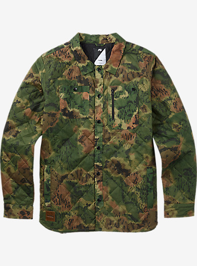 Analog Conduct Shirt shown in Ink Blot Camo
