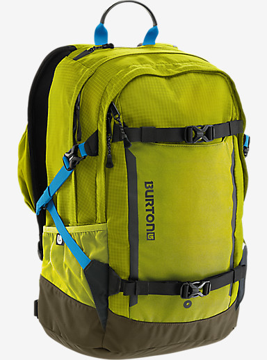 Burton Day Hiker Pro 28L Backpack shown in Toxin Bonded Ripstop