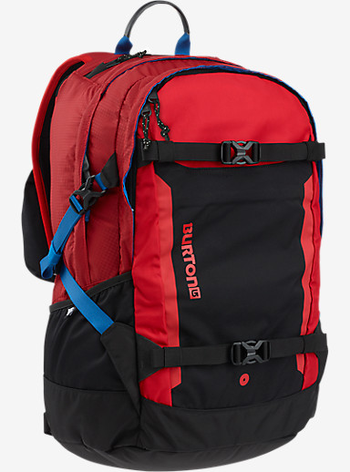 Burton Day Hiker Pro 28L Backpack shown in Flame Ripstop