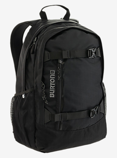 Burton Day Hiker 25L Backpack shown in True Black Ripstop
