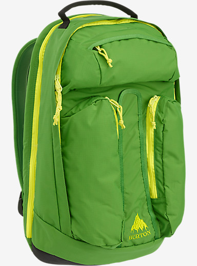 Burton Curbshark Backpack shown in Online Lime Ripstop [Mountain Dew Collaboration]