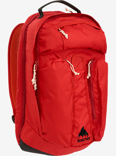 Burton Curbshark Backpack shown in Flame Triple Ripstop