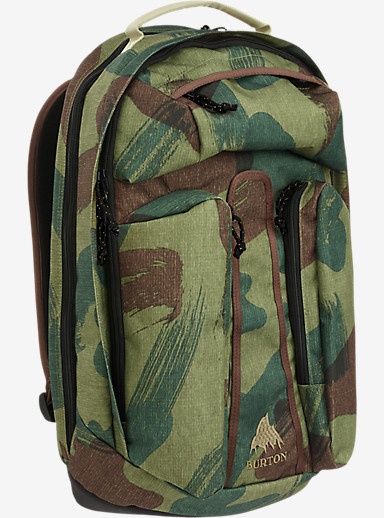 Burton Curbshark Backpack shown in Denison Camo