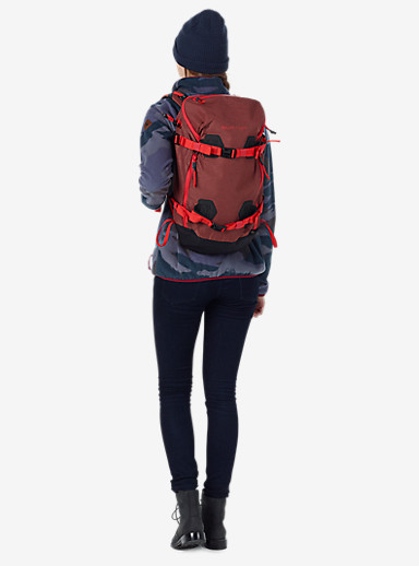 Burton Women's 20L Backpack shown in Matador Heather Cordura®