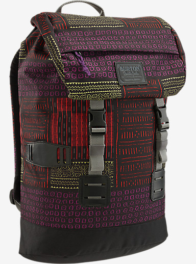 Burton Women's Tinder Backpack shown in Yolandi Print