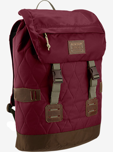 Burton Women's Tinder Backpack shown in Quilted Zinfandel