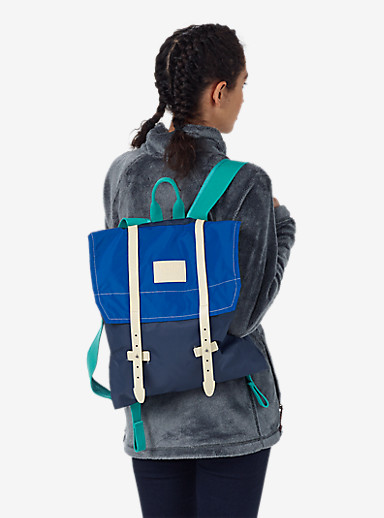 Burton Women's Taylor Backpack shown in Mood Indigo Flight Satin