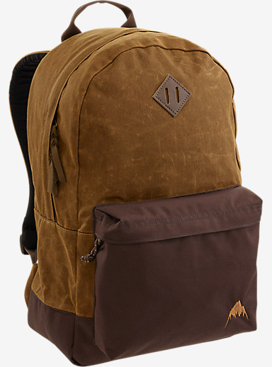 Burton Women's Kettle Backpack shown in Foxy Brown Wax Canvas