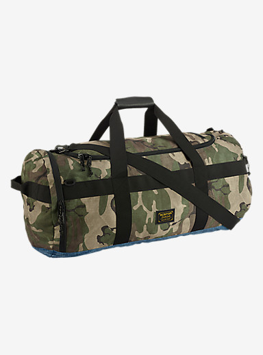 Burton Backhill Duffel Bag Large 90L shown in Bkamo Print