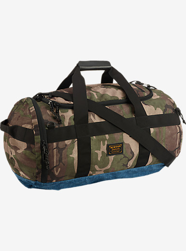 Burton Backhill Duffel Bag Medium 70L shown in Bkamo Print