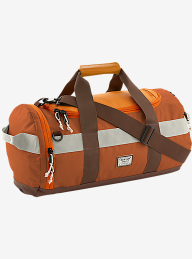 Burton Backhill Duffel Bag 40L shown in Desert Sunset Tarp
