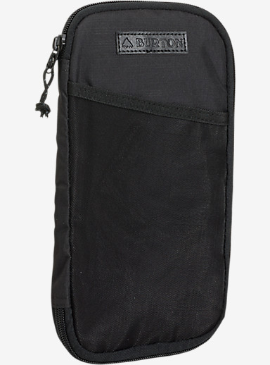 Burton Co-Pilot Travel Case shown in True Black Triple Ripstop